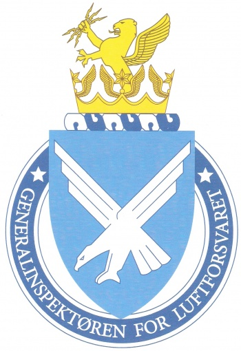 Coat of arms (crest) of the Inspector General of the Air Force, Norwegian Air Force