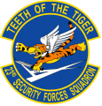 23th Security Forces Squadron, US Air Force.png