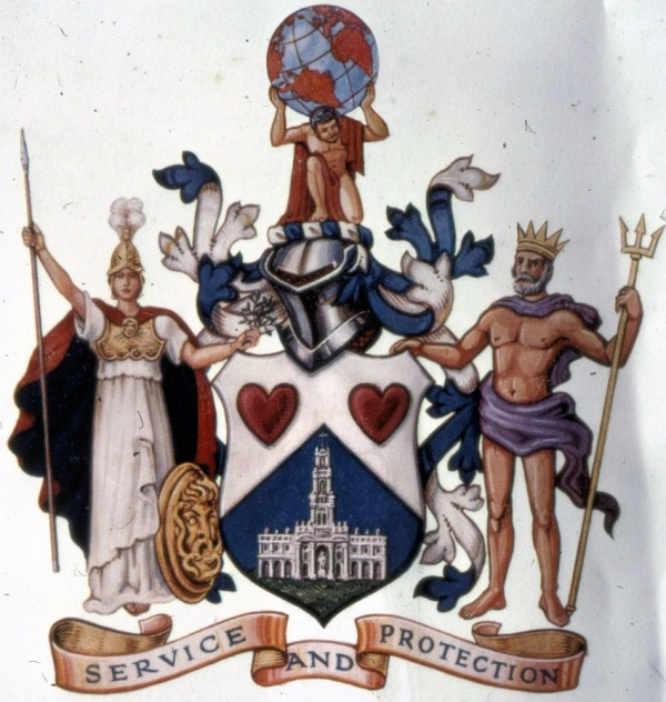Arms of Guardian Royal Exchange Assurance
