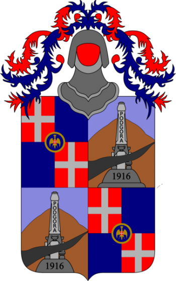 Coat of arms (crest) of the 12th Infantry Regiment Casale, Italian Army