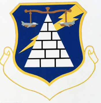 Coat of arms (crest) of the 832nd Combat Support Group, US Air Force
