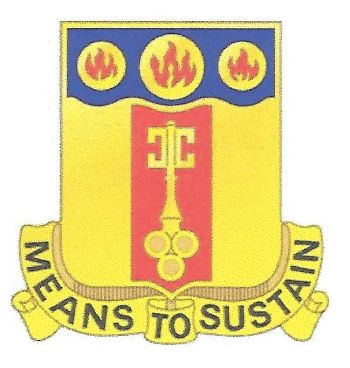 Arms of 35th Support Battalion, US Army