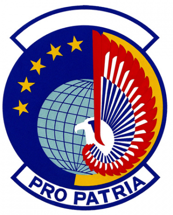 Coat of arms (crest) of the 45th Aerial Port Squadron, US Air Force