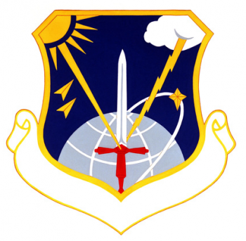Coat of arms (crest) of the 4th Weather Wing, US Air Force
