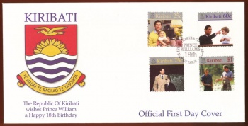 Arms of Kiribati (stamps)