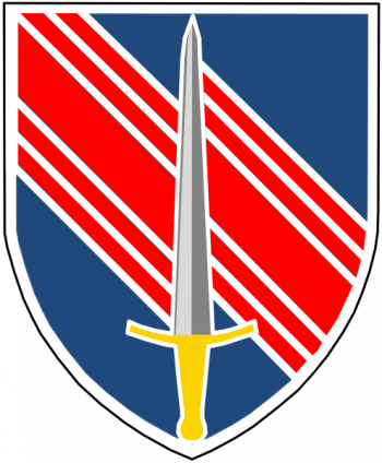 Arms of 2nd Security Force Assistance Brigade, US Army