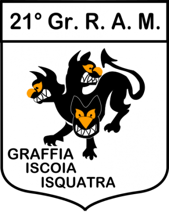 Coat of arms (crest) of the 21st Radar Group, Italian Air Force