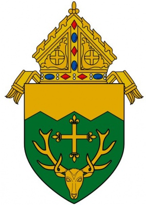 Arms (crest) of Diocese of Burlington