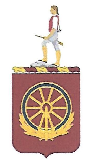 Arms of 257th Transportation Battalion, US Army