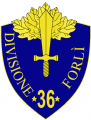 36th Infantry Division Forli, Italian Army.png