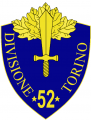 52nd Infantry Division Torino, Italian Army.png