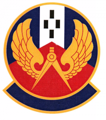 Coat of arms (crest) of the 42nd Civil Engineer Squadron, US Air Force