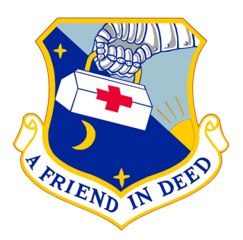 Coat of arms (crest) of the 816th Medical Group, US Air Force