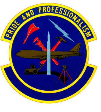 Coat of arms (crest) of the 840th Civil Engineer Squadron, US Air Force
