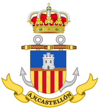 Coat of arms (crest) of the Naval Assistantship Castellón, Spanish Navy