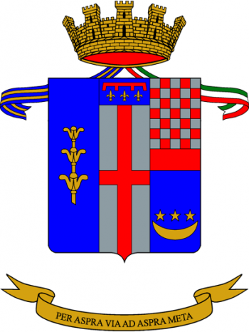Coat of arms (crest) of the 6th Engineer Regiment, Italian Army