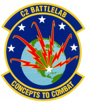 Coat of arms (crest) of the Command and Control Battlelab, US Air Force