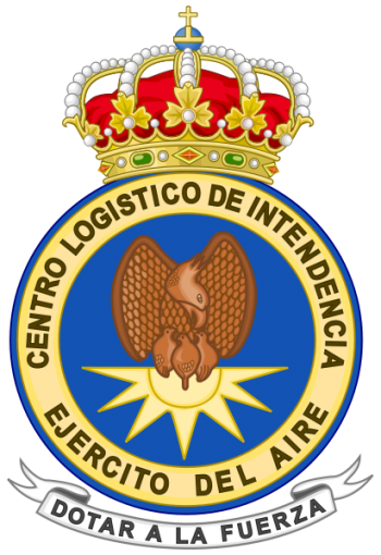 Coat of arms (crest) of the Quartermaster Logistics Center, Spanish Air Force
