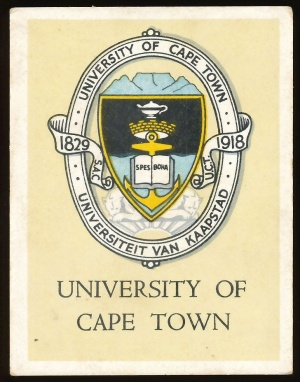 Arms of University of Cape Town