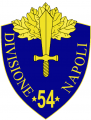 54th Infantry Division Napoli, Italian Army.png