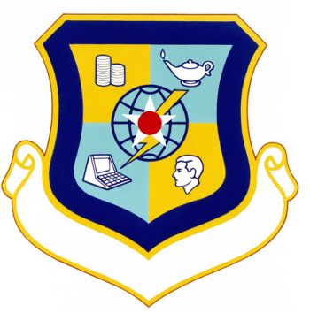 Coat of arms (crest) of the San Antonio Data Services Center, US Air Force