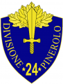 24th Infantry Division Pinerolo, Italian Army.png