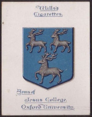 Arms of Jesus College (Oxford University)