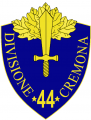 44th Infantry Division Cremona, Italian Army.png