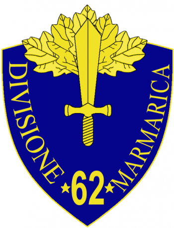 Coat of arms (crest) of the 62nd Infantry Division Marmarica, Italian Army