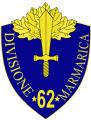 62nd Infantry Division Marmarica, Italian Army.png