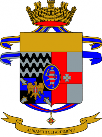 Coat of arms (crest) of the 9th Infantry Regiment Bari, Italian Army