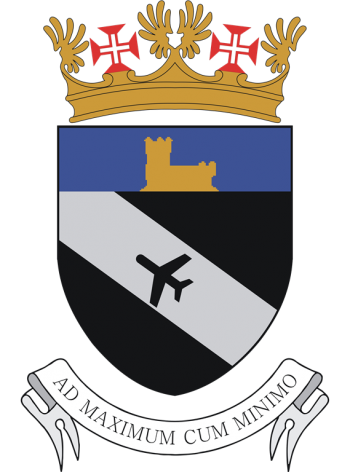 Arms of Transit Aerodrome No 1, Lisbon International Airport, Portuguese Air Force