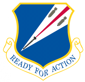 Coat of arms (crest) of the 131st Bomb Wing, Missouri Air National Guard
