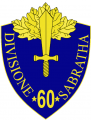 60th Infantry Division Sabratha, Italian Army.png