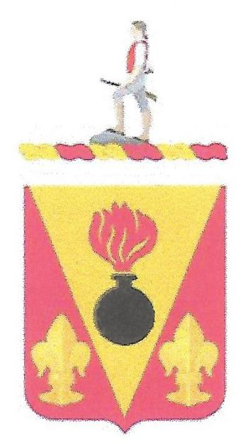 Arms of 398th Support Battalion, US Army