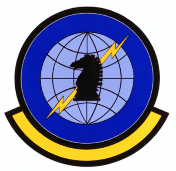Coat of arms (crest) of the Air Intelligence Agency Technical Services Support Squadron, US Air Force