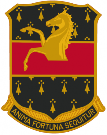 Arms of 309th Cavalry Regiment, US Army