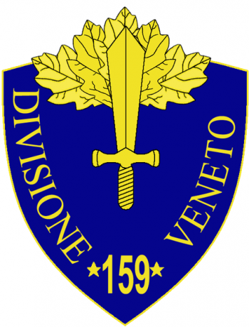 Coat of arms (crest) of the 159th Infantry Division Veneto, Italian Army