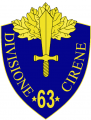 63rd Infantry Division Cirene, Italian Army.png