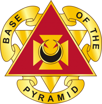 Arms of 87th Support Battalion, US Army