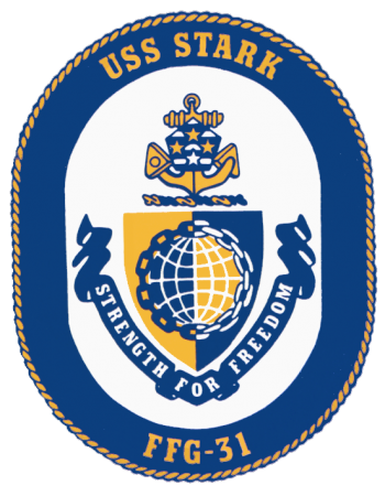 Coat of arms (crest) of the Frigate USS Stark (FFG-31)