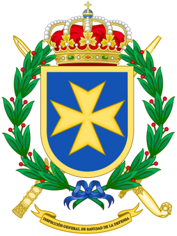 Coat of arms (crest) of the Defence Medical General-Inspection, Spain
