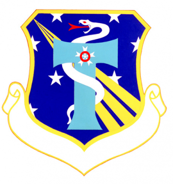 Coat of arms (crest) of the USAF Hospital Columbus, US Air Force