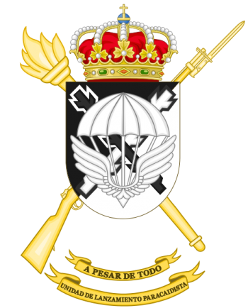 Coat of arms (crest) of the Air Drop Unit, Spanish Army