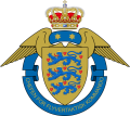 Chief of the Tactical Air Command, Danish Air Force.png