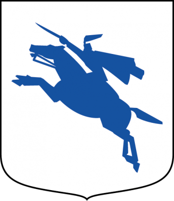 Coat of arms (crest) of the Garrison Unit, 3rd Cavalry, Swedish Army