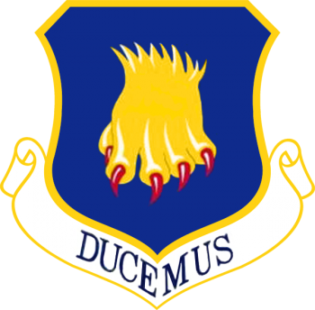 Coat of arms (crest) of the 22nd Air Refuleing Wing, US Air Force