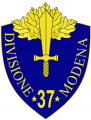 37th Infantry Division Modena, Italian Army.png