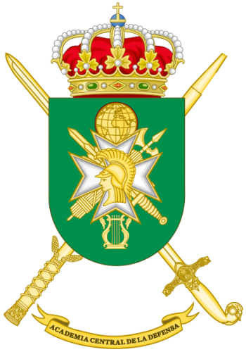 Coat of arms (crest) of the Spanish Armed Forces Central Academy, Spain