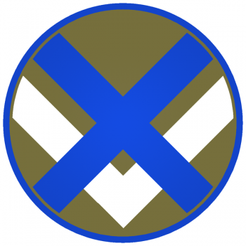 Coat of arms (crest) of the XV Corps, US Army